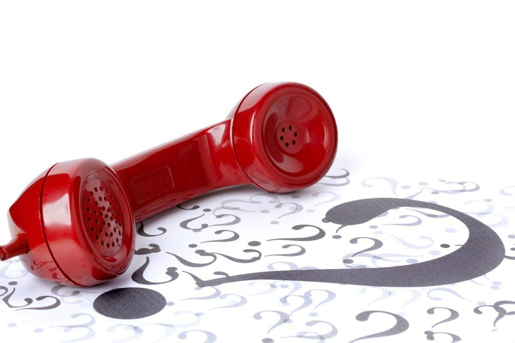 Pokój do wynajęcia - słuchawka telefoniczna